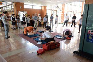 休暇村グループの公共の宿 国民宿舎サンロード吉備路 訓練