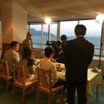 休暇村グループの公共の宿 サンビーチおきみ 夕食撮影府警