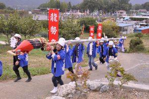 休暇村グループの公共の宿 国民宿舎両神荘 龍勢まつり2