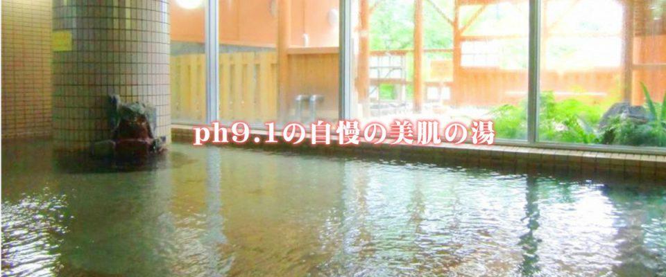 ph9.1の自慢の美人の湯