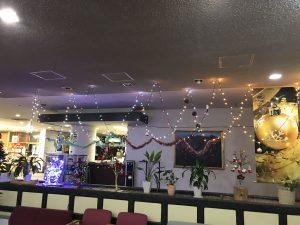 休暇村グループの公共の宿 国民宿舎両神荘 クリスマス飾り2