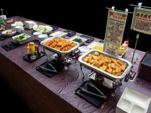 休暇村グループの公共の宿 国民宿舎両神荘 夕食バイキング
