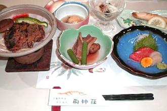 夕食料理メニュー 「おがの四季の膳」