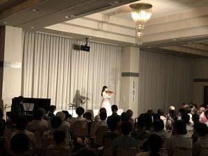 休暇村グループの公共の宿 国民宿舎両神荘 音楽の夕べ2