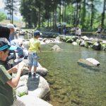 休暇村グループの公共の宿 国民宿舎両神荘 渓流釣り