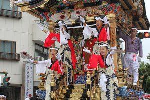 休暇村グループの公共の宿 国民宿舎両神荘 川瀬祭り2