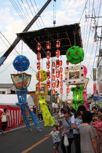 休暇村グループの公共の宿 国民宿舎両神荘 七夕フェスティバル
