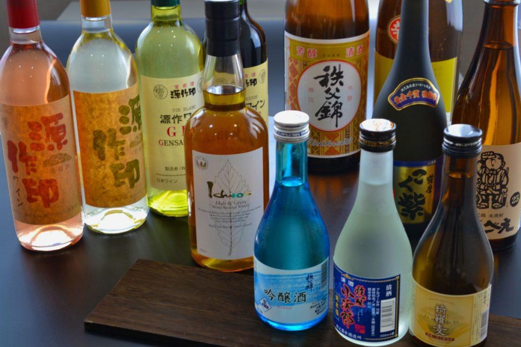 休暇村グループの公共の宿 国民宿舎両神荘 地酒