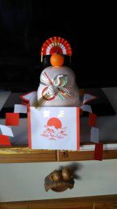 休暇村グループの公共の宿 国民宿舎両神荘 鏡餅