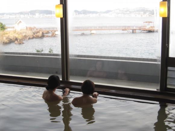 【桜島マグマ温泉】≪錦江湾を眺めながら湯ったりのんびり≫