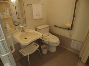 バリアフリールームトイレ