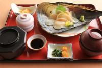 タイラギ貝定食1800円