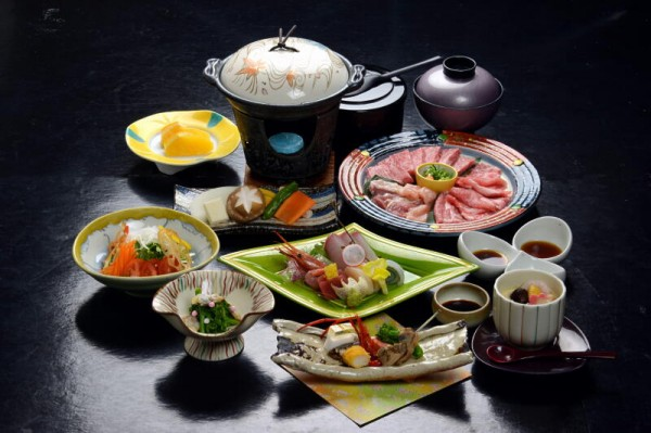 鳥取ブランド肉3種 食べ尽くし会席コース