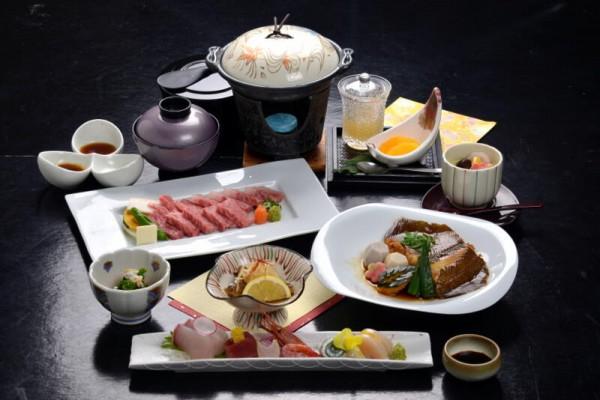 鳥取和牛+日本海の旬魚 味めぐりコラボ会席コース