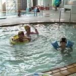 休暇村グループ公共の宿むいかいち温泉ゆ・ら・らの子供プール