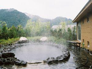 休暇村グループ公共の宿むいかいち温泉ゆ・ら・らの露天風呂