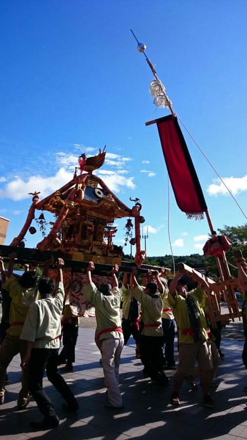 お熊甲祭り 中島町
