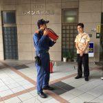 レインボー桜島 消防訓練