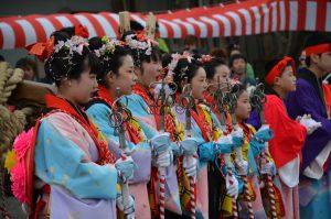休暇村グループの公共の宿 国民宿舎両神荘 小鹿野春祭り2