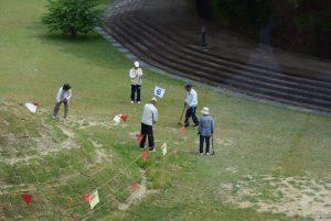 休暇村グループの公共の宿 国民宿舎サンロード吉備路 グラウンド・ゴルフ