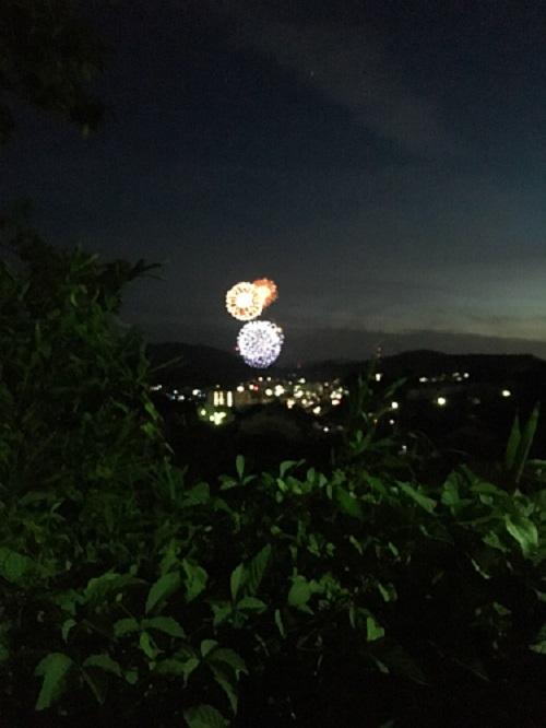 休暇村グループ 公共の宿 保養センター 美榛苑 花火