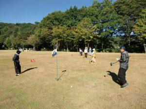 休暇村グループの公共の宿 国民宿舎両神荘 グラウンドゴルフ
