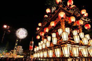 休暇村グループの公共の宿 国民宿舎両神荘 秩父夜祭