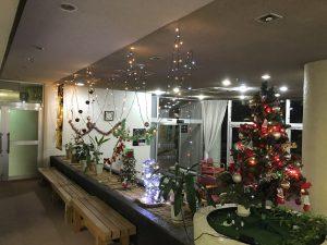 休暇村グループの公共の宿 国民宿舎両神荘 クリスマス飾り