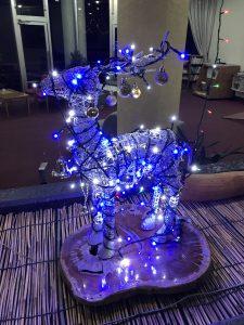 休暇村グループの公共の宿 国民宿舎両神荘 クリスマス飾り3