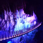 休暇村グループの公共の宿 国民宿舎両神荘 氷柱ライトアップ