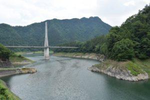 休暇村グループの公共の宿 国民宿舎両神荘 合格ダム2