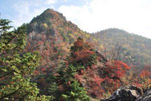 休暇村グループの公共の宿 国民宿舎両神荘 両神山の紅葉