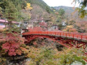 休暇村グループの公共の宿 国民宿舎両神荘 三峰山の紅葉