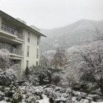 休暇村グループの公共の宿 国民宿舎両神荘 雪2
