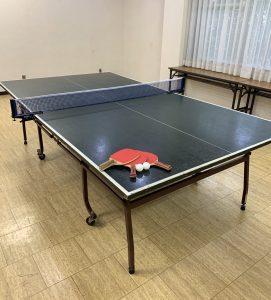 休暇村グループの公共の宿 国民宿舎両神荘 卓球