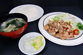 休暇村グループの公共の宿 国民宿舎両神荘 定食