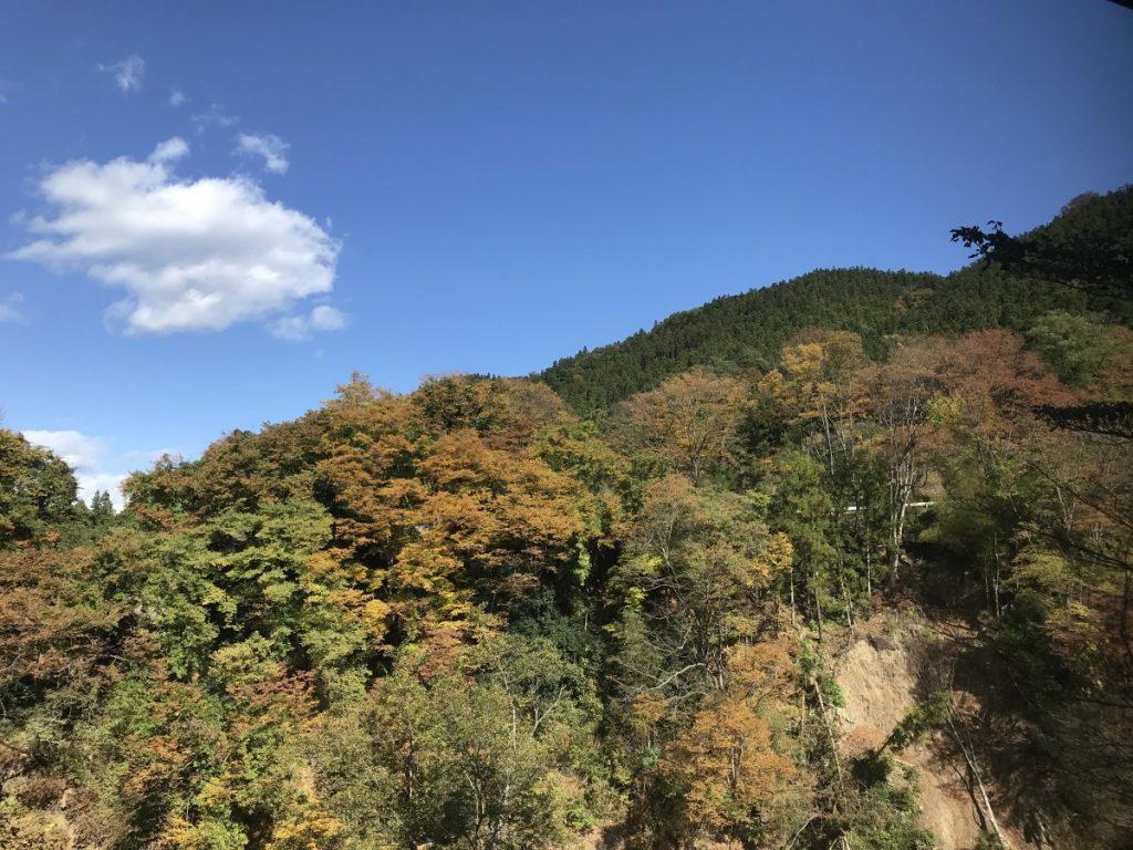 休暇村グループの公共の宿 国民宿舎両神荘 紅葉露天2