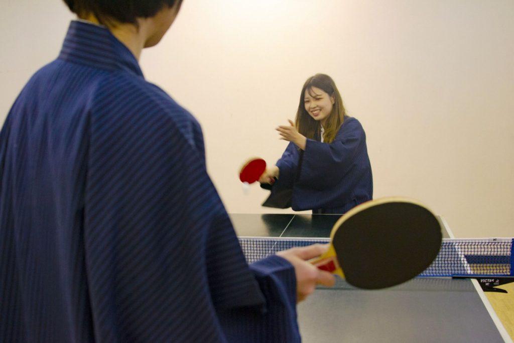 休暇村グループの公共の宿 国民宿舎両神荘 温泉卓球